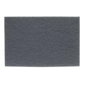 """Non-Woven Sanding Pad - 6"""" x 9"""" - #000 - Gray"""