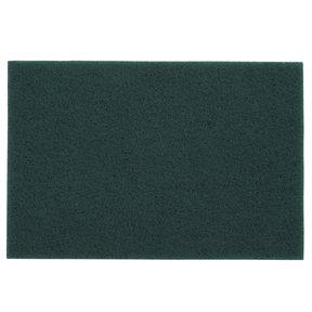 """Non-Woven Sanding Pad - 6"""" x 9"""" - #0 - Green"""