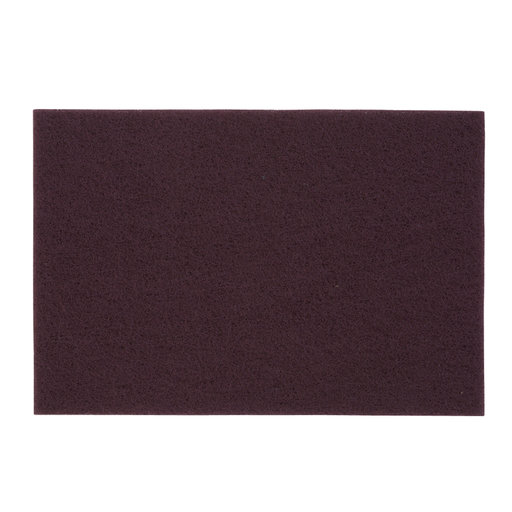 """View a Larger Image of 6"""" x 9"""" Non-Woven Sanding Pad 1pc Maroon #00"""