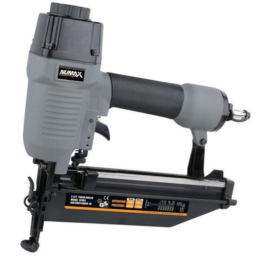 View a Larger Image of Numax 16 Gauge Straight Finish Nailer, Model SFN64