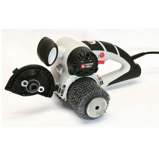 View a Larger Image of Nylon Abrasive Bristle Wheel Attachment for Porter Cable Restorer