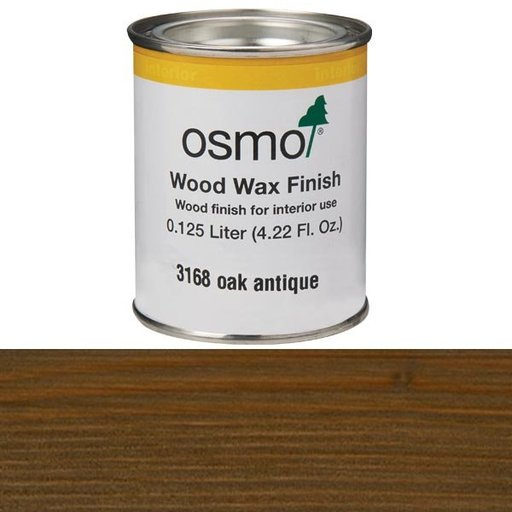 View a Larger Image of Oak Antique Wood Wax 3168 Solvent Based .125 l