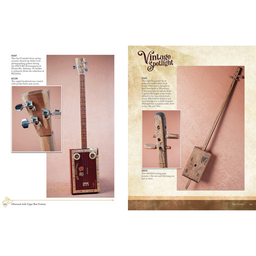 View a Larger Image of Obsessed with Cigar Box Guitars, Second Edition