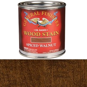 Spiced Walnut Stain Solvent Based 1/2 Pint