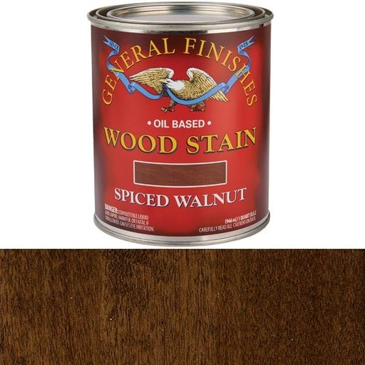 View a Larger Image of Spiced Walnut Stain Solvent Based Quart