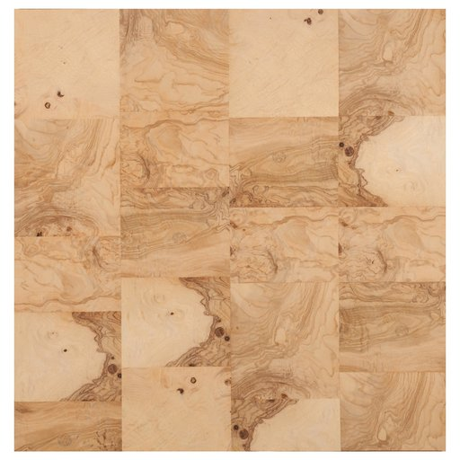 """View a Larger Image of Olive Ash 24"""" x 24"""" 2ply Wood on Wood Patchwork Wood Veneer"""