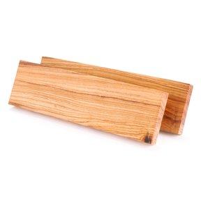 """Olivewood Knife Scale - 3/8"""" x 1-1/2"""" x 5"""" - 2 Piece"""