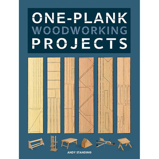 View a Larger Image of One-Plank Woodworking Projects