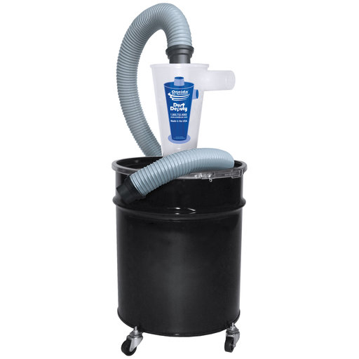 View a Larger Image of Deluxe Dust Deputy with 10-Gallon Drum