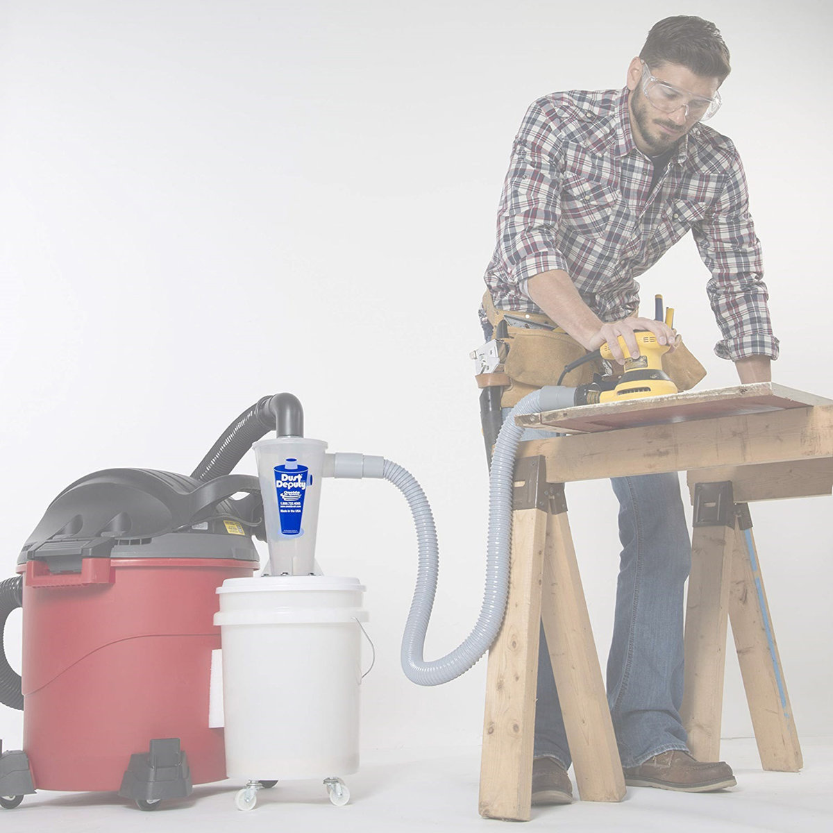 View a Larger Image of DIY Dust Deputy Cyclone Only