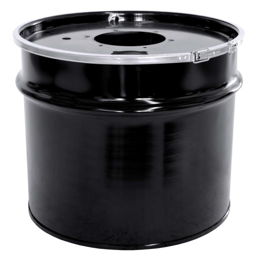 View a Larger Image of Metal 17-Gallon Collection Drum