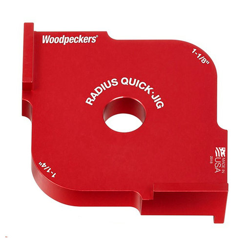 """View a Larger Image of OneTIME Tool 1-1/8"""" and 1-1/4"""" Radius Quick Jig"""