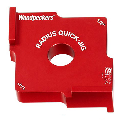 """View a Larger Image of OneTIME Tool 1/8"""" and 1/4"""" Radius Quick Jig"""