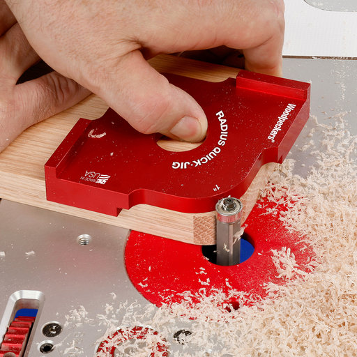 """View a Larger Image of OneTIME Tool 5/8"""" and 3/4"""" Radius Quick Jig"""