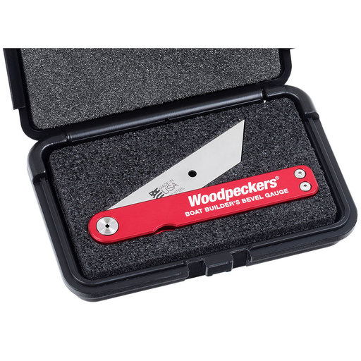 """View a Larger Image of OneTIME Tool 5"""" Boat Builders Bevel Gauge With Case"""