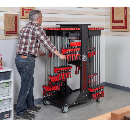 """View a Larger Image of OneTime Tool Clamp Rack-It Mobile 24"""""""