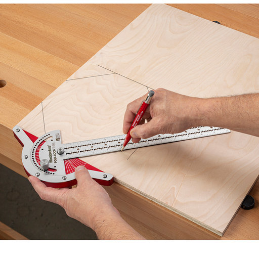 View a Larger Image of OneTime Tool Posi-Lock T-Square Inch Set