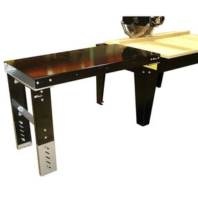 """4'x24"""" Formed Steel Extension Table"""