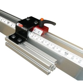 Fixed Foot Manual Measuring System, 24' Left Side Mounting
