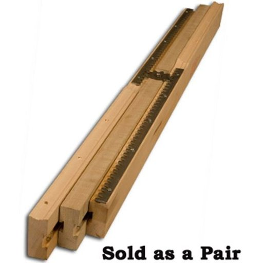 """View a Larger Image of 38"""" Equalizer Table Slide Pair, 37"""" opening, Model 9051M"""