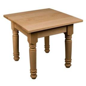 Soft Maple Farm Style End Table Kit, Model 50021M