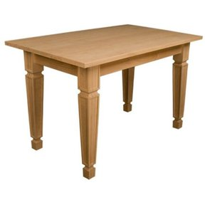 """30"""" x 48"""" x 30"""" Mission Style Table Kit Soft Maple, Model 50001M"""