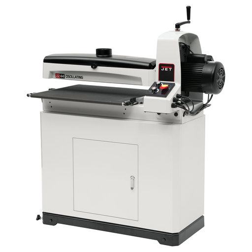 View a Larger Image of  Oscillating Drum Sander with closed Stand, JWDS-2244OSC