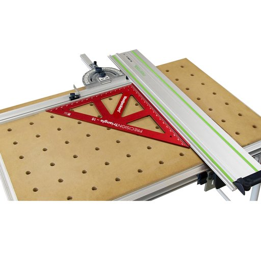 """View a Larger Image of OneTime Tool 12"""" and 18"""" PRECISION TRIANGLE - WITH CASE"""