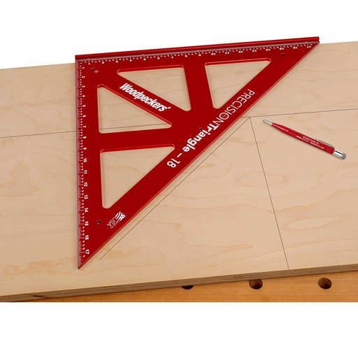 View a Larger Image of OneTime Tool 450mm PRECISION TRIANGLE - WITH CASE