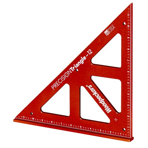 """View a Larger Image of OneTime Tool 12"""" Precision Triangle - No Case"""