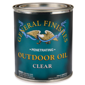 Clear Outdoor Oil Solvent Based Quart
