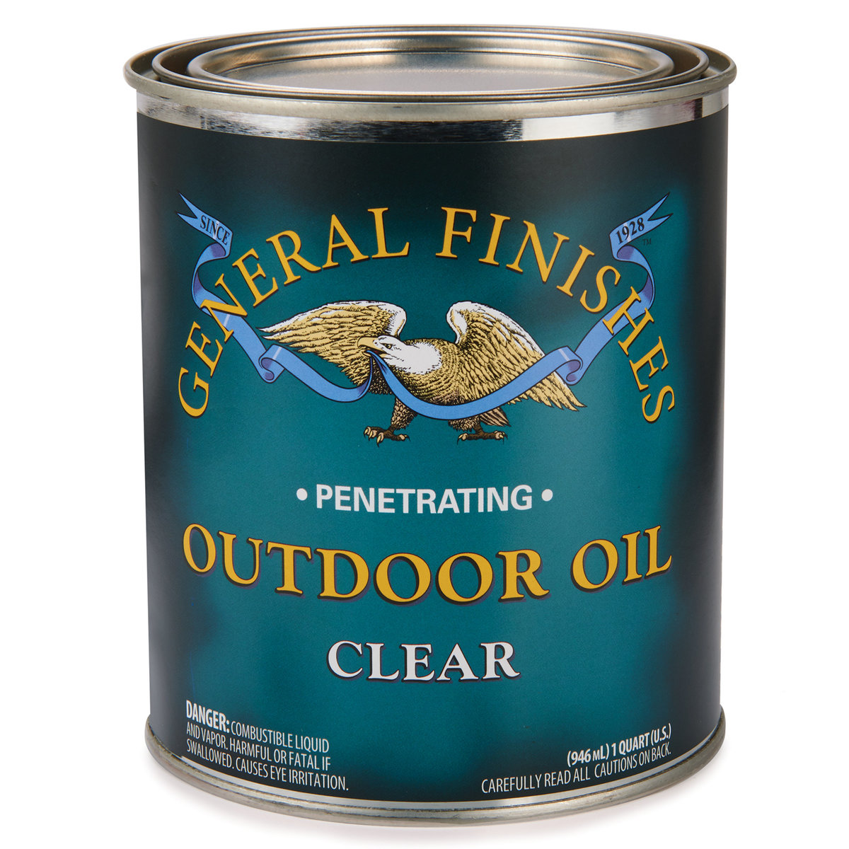 View a Larger Image of Clear Outdoor Oil Solvent Based Quart