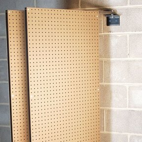 """Over the Workbench Swing Panel (2), 2-sided, 24"""" x 48"""""""