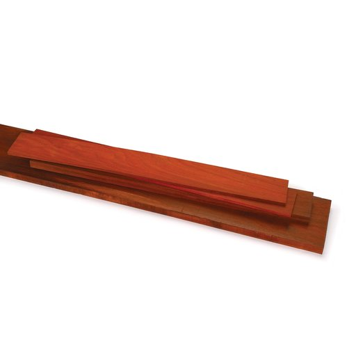 """View a Larger Image of Padauk 3/4"""" x 6"""" x 24"""" Dimensioned Wood"""