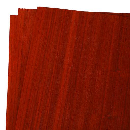 """View a Larger Image of Padauk 12"""" x 12"""" 3 pc Pack Wood Veneer"""