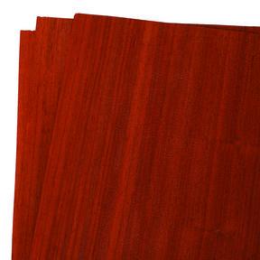 "Padauk Wood Veneer Pack - 12"" x 12"" - 3 Piece"