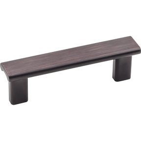 """Park Pull, 3"""" C/C, Brushed Oil Rubbed Bronze"""