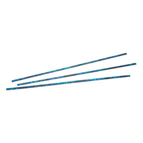"""Paua Abalone Inlay Strip - 1/32"""" x 9/64"""" x 9-3/64"""" - Cascade - 3 Pack"""