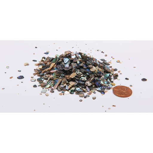 View a Larger Image of Paua Abalone Inlay Material Medium 2 oz