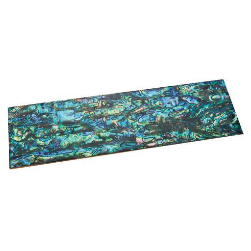 "View a Larger Image of Paua Abalone Natural 9-1/4"" x 2-3/4"" x 1/32"" Sheet Inlay Material"
