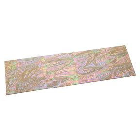 """Paua Abalone Inlay Sheet - 1/32"""" x 2-3/4"""" x 9-1/4"""" - Nebula"""