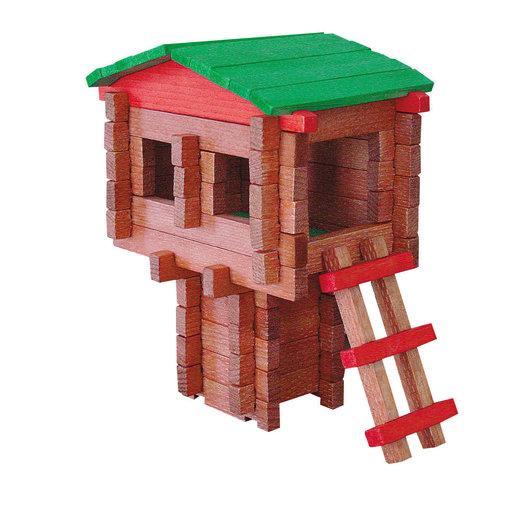 View a Larger Image of Paul Bunyan Tree House  100 pc Set