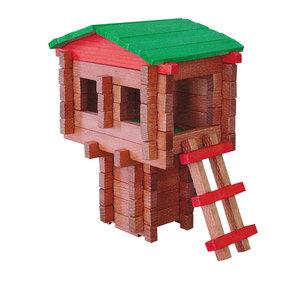 Paul Bunyan Tree House  100 pc Set