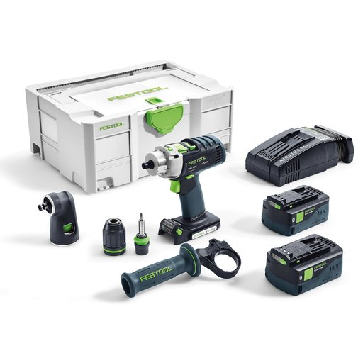 View a Larger Image of PDC18/4 Li 5.2 Cordless Drill Set