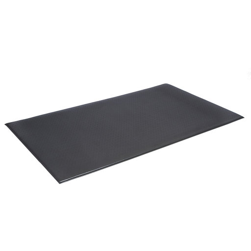 """View a Larger Image of Pebble Wear-Bonded Comfort-King 1/2""""  2'x3' - Steel Gray"""