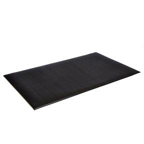 """Pebble Wear-Bonded Tuff-Spun 9/16"""" 3'x5' - Black"""