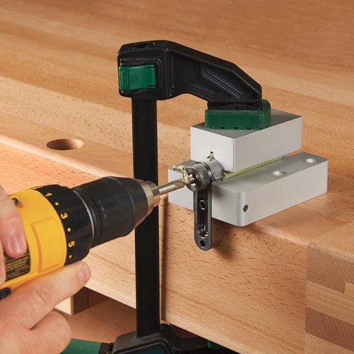 View a Larger Image of Pen Drilling Vise w/7mm Drilling Guide & Stop Collar
