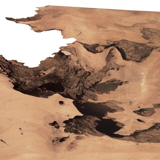 "View a Larger Image of Pequia (Caryocar Villosum) Slab 99""x30""x2"""