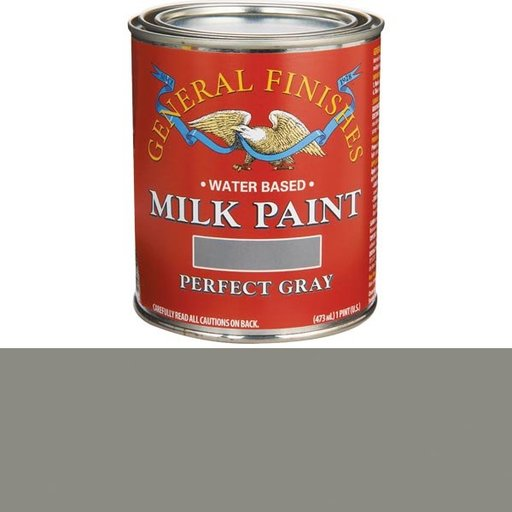 View a Larger Image of Perfect Gray Milk Paint Water Based Pint