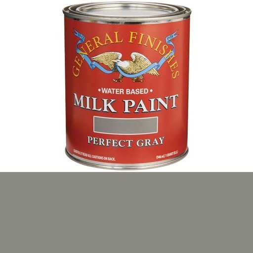 View a Larger Image of Perfect Gray Milk Paint Water Based Quart